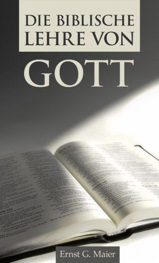 Die biblische Lehre von Gott-0