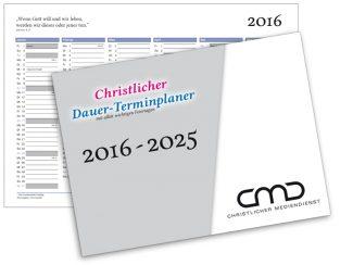 Christlicher Zehnjahreskalender 2016 – 2025-0